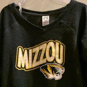 University of Missouri v neck Sweatshirt large